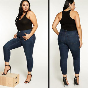 Seamless Denim Leggings
