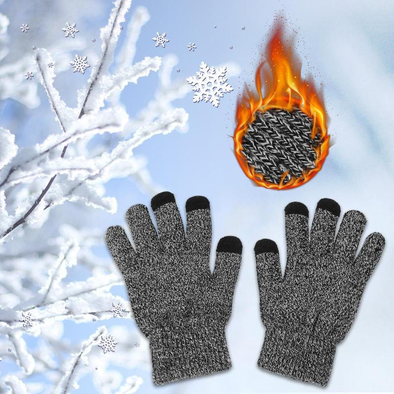 Anti-Slip Touch Screen Winter Gloves