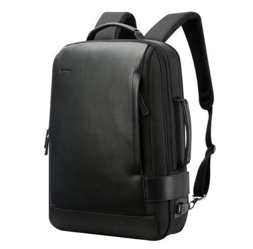 Anti-theft USB Charging Leather Backpack