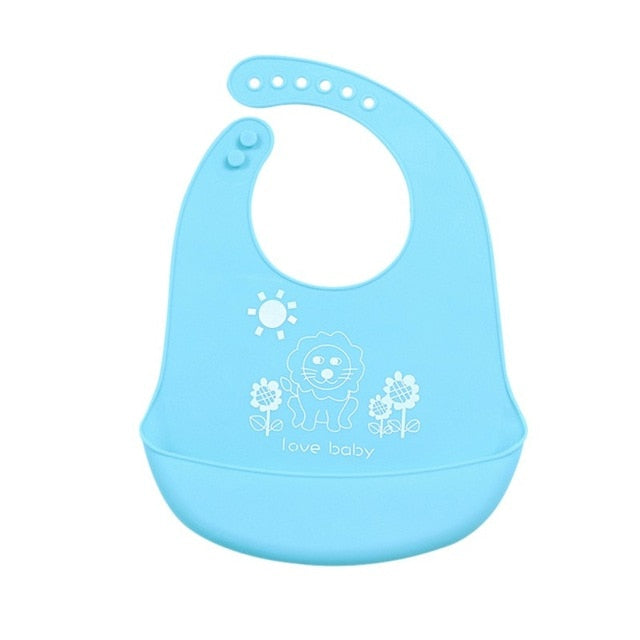 Waterproof Baby Bib with Pocket