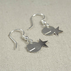 Sterling Silver Mixed Charm Earring