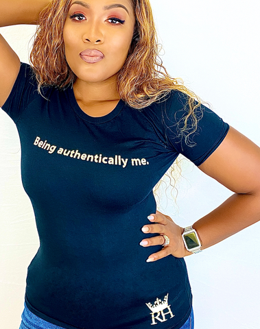 BEING AUTHENTICALLY ME SHIRT