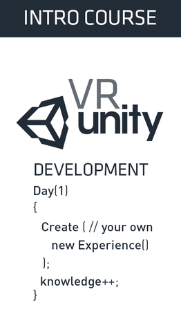 VR Development for Unity - FULL PAYMENT