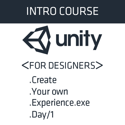 Unity for Designers - CORPORATE COURSE [DEPOSIT]