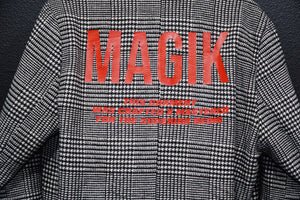 magikusa - SUPERIOR LABCOAT - HOUNDSTOOTH - COAT