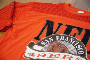 80'S 49ERS JERSEY - RED