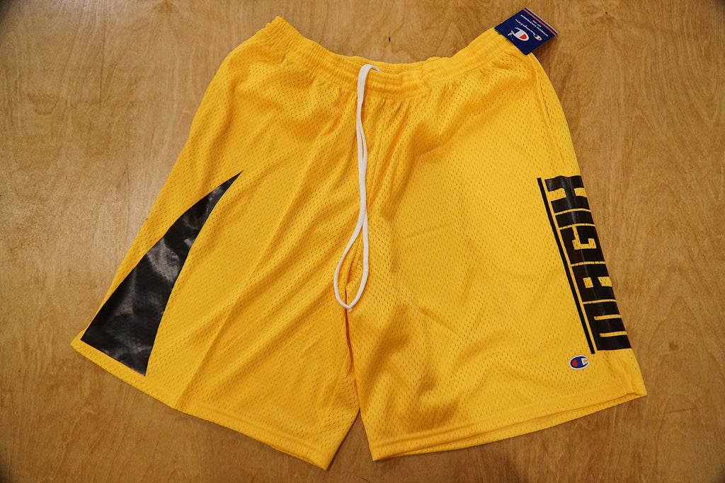 MAGIK X CHAMPION LUXE WAVE GYM SHORTS
