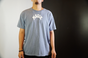 magikusa - MAGIK ARC WASHED TEE - TOP