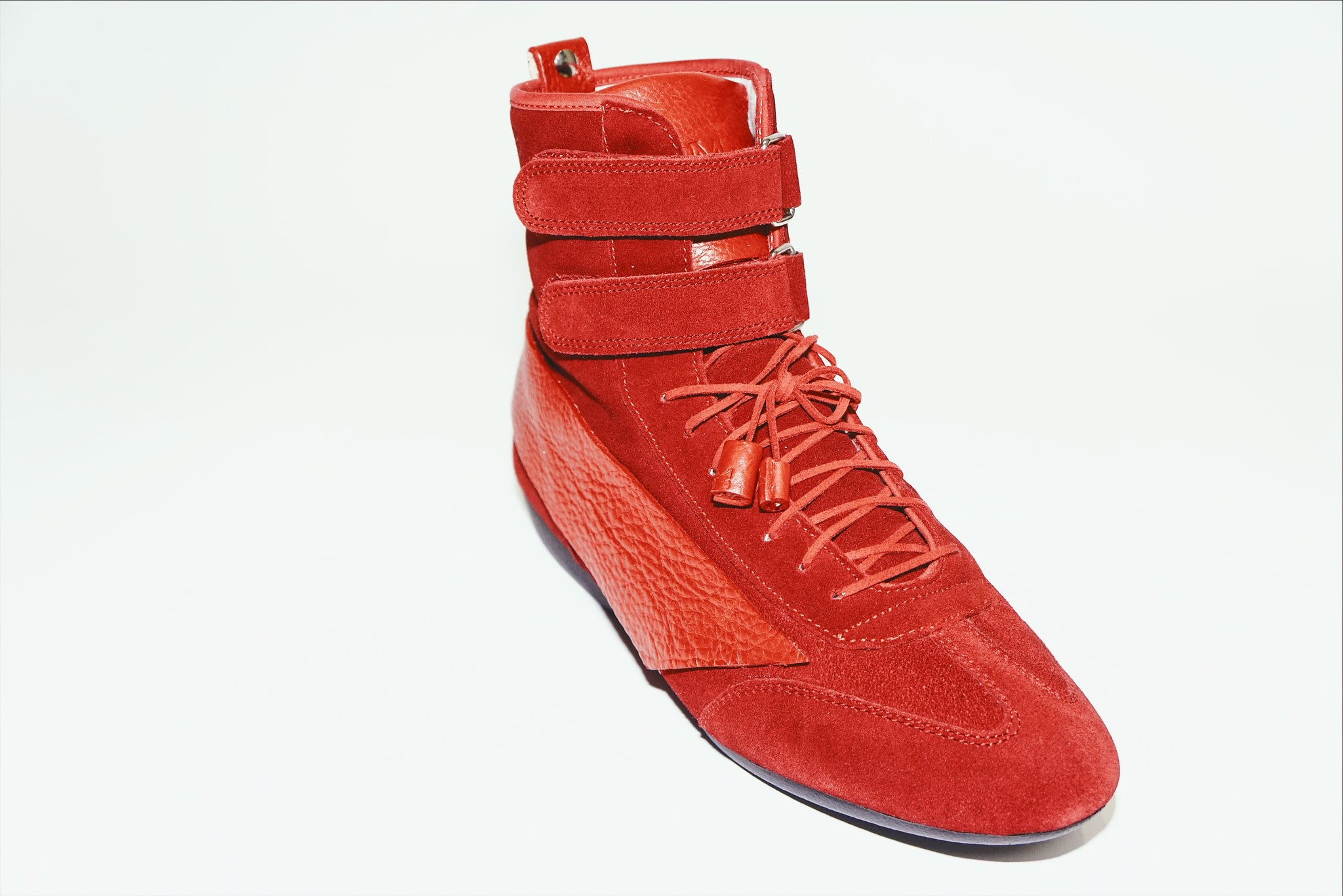 magikusa - MAGIK ARK HIGH SNEAKER - LAVA RED - FOOTWEAR