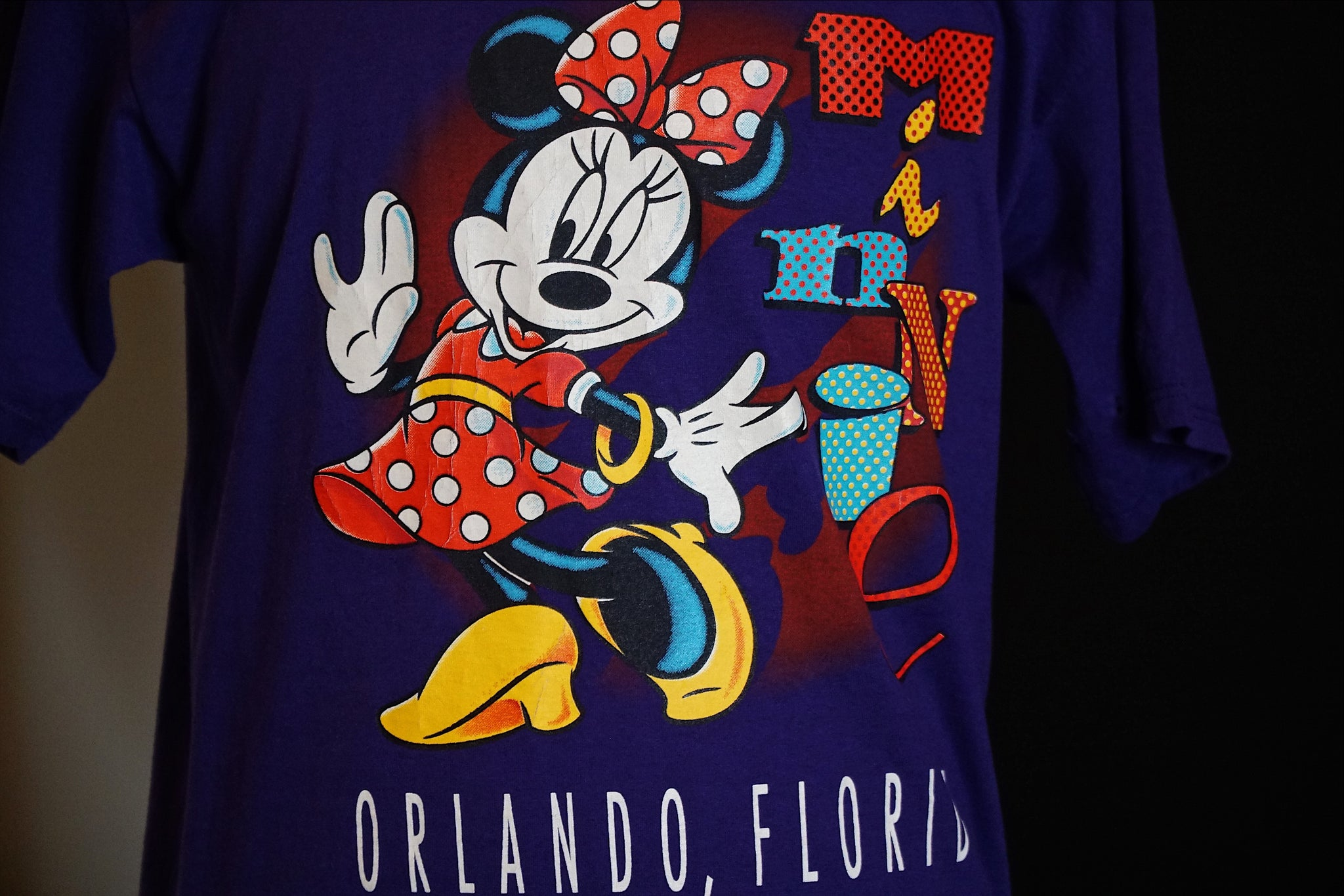 Minnie mouse purple classic
