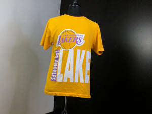 magikusa - Los Angeles lakers big letter tee - golden -