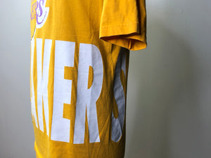 Los Angeles lakers big letter tee - golden