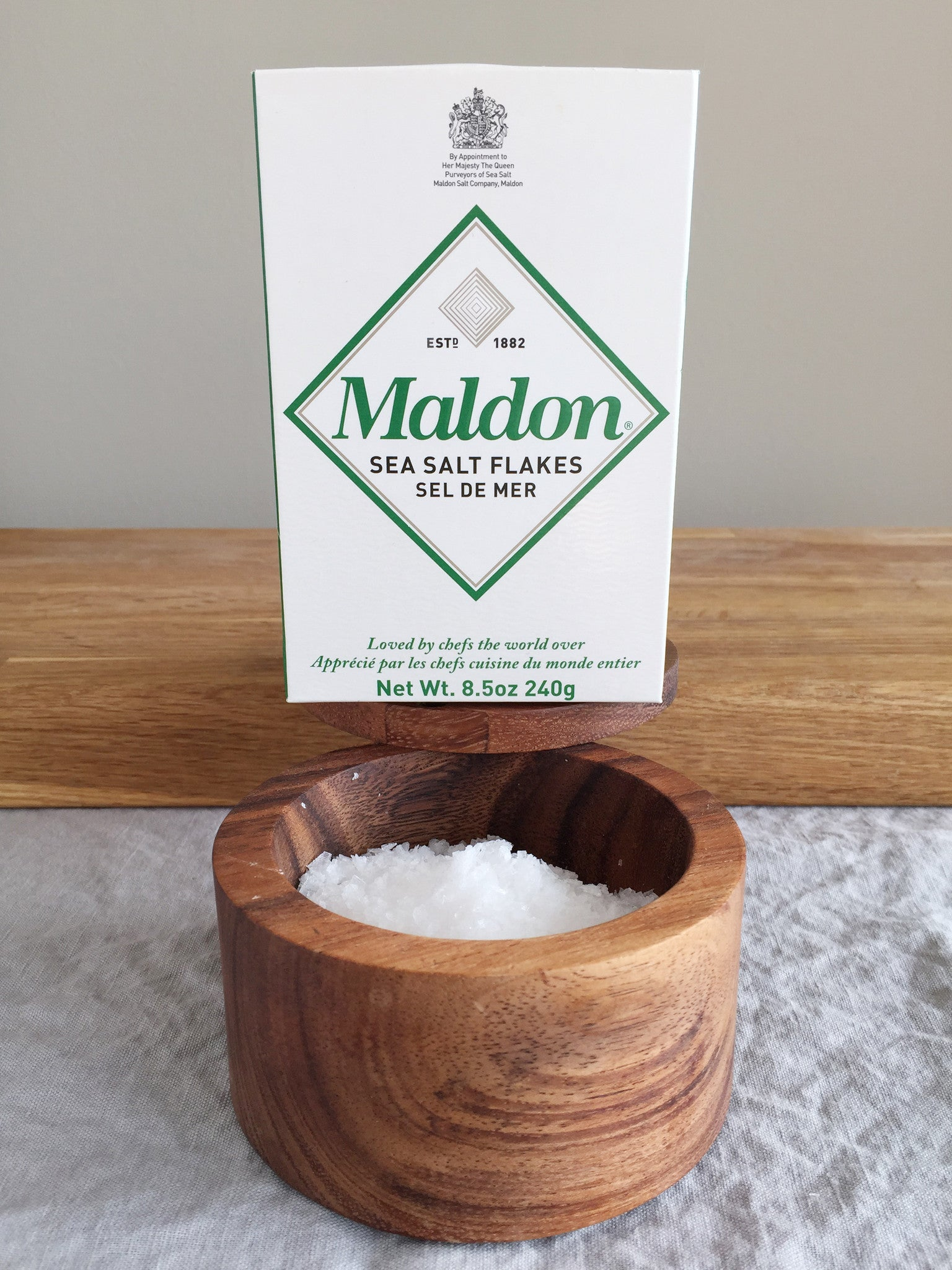 The King of Salt Returns: Maldon and a guide to salts for
