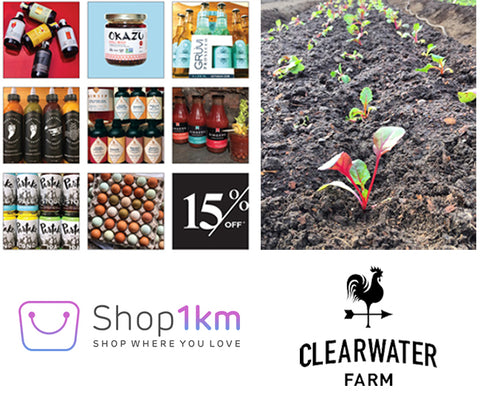 Shop1km and Clearwater Farms
