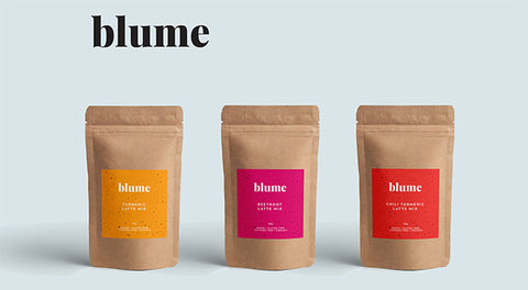 Blume latte mixes