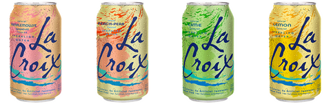 Lacroix flavoured sparkling water