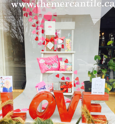 Mercantile Love Window