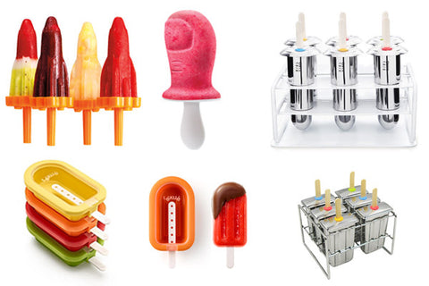 Tovolo, Lekue and Onyx ice pop molds