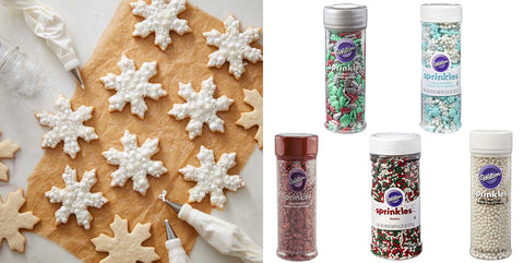 Make your own Snowflake cookies