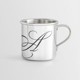 Personalized Heirloom Baby Cup - Script