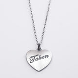 Heart Necklace - Taken
