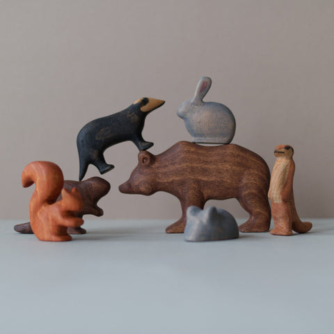 Wooden animals toy
