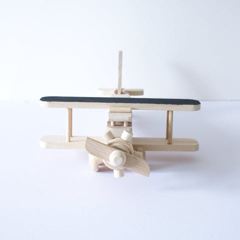 Wooden plane toy - happylittlefolks - 1