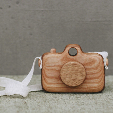 Wooden camera toy - Happy Little Folks