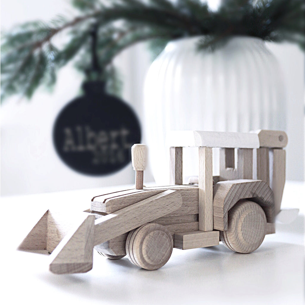 Wooden digger toy - Happy Little Folks
