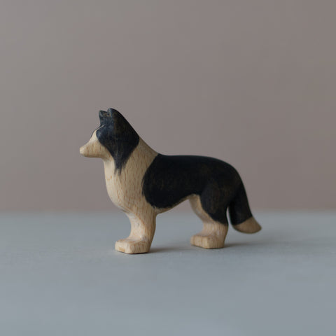 Wooden Border Collie toy - Happy Little Folks