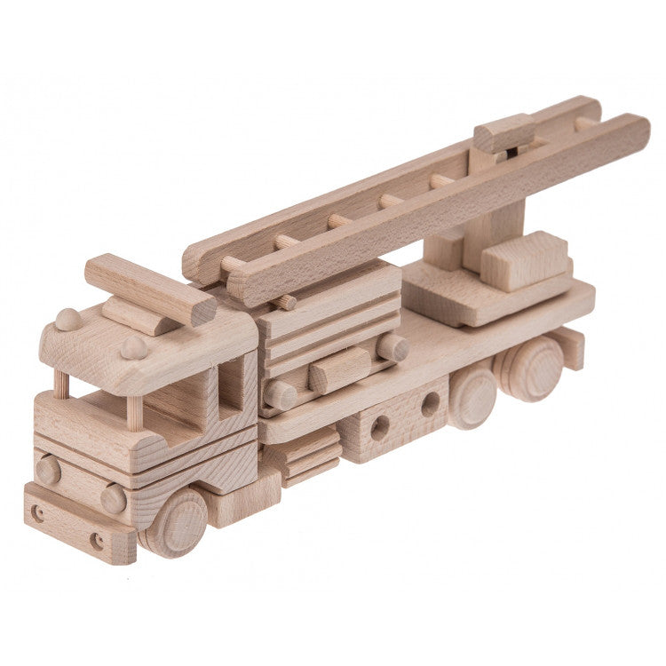 Wooden Fire Engine toy