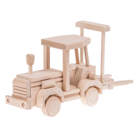 Wooden forklift toy - Happy Little Folks