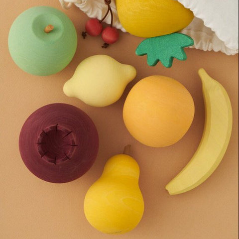 Wooden fruit set - Raduga Grez - Happy Little Folks