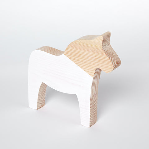 Wooden Dala horse - Happy Little Folks