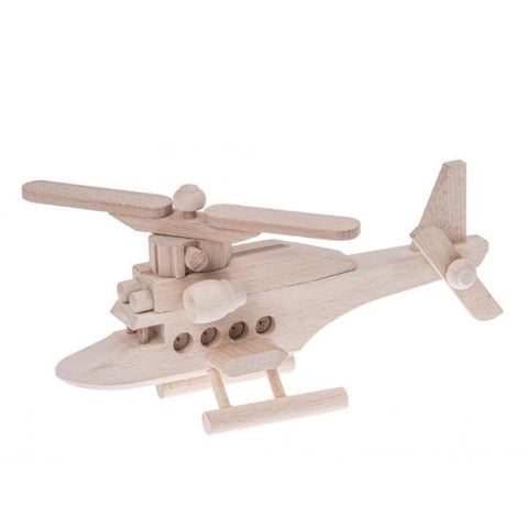 Wooden helicopter toy - Happy Little Folks