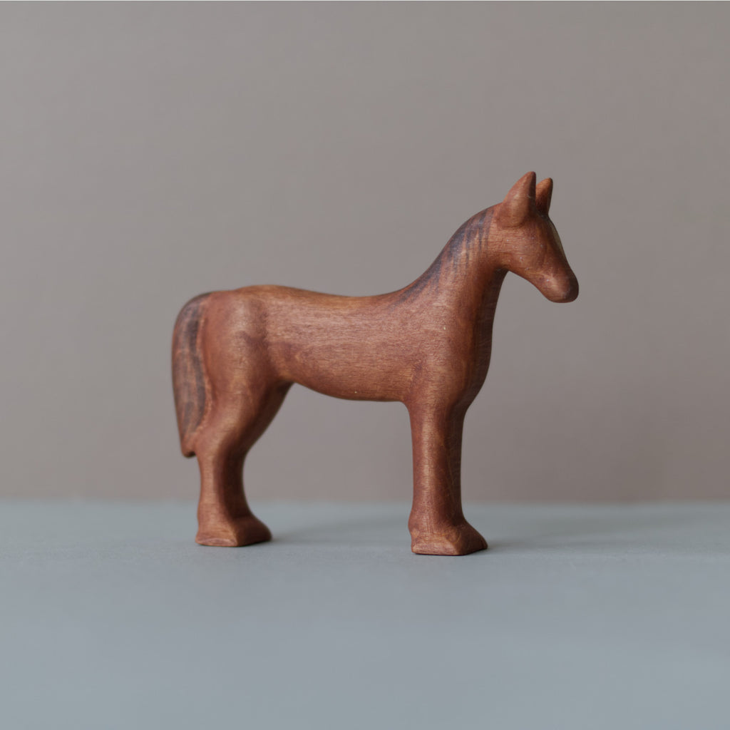 Wooden Horse toy - Happy Little Folks