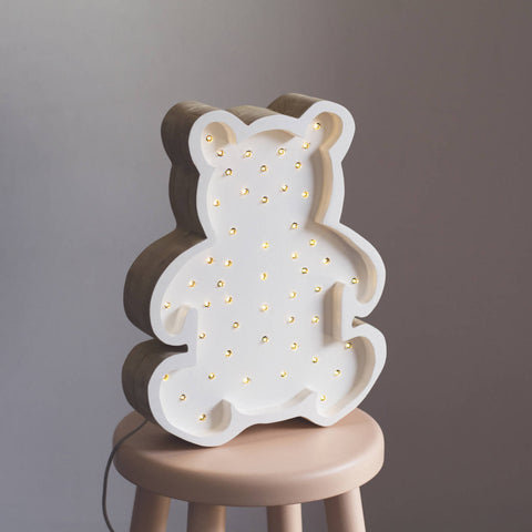 Bear LED lamp by Little Lights - Happy Little Folks