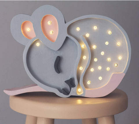 Mouse lamp by Little Lights - Happy Little Folks