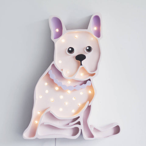 Bulldog LED lamp by Little Lights - Happy Little Folks