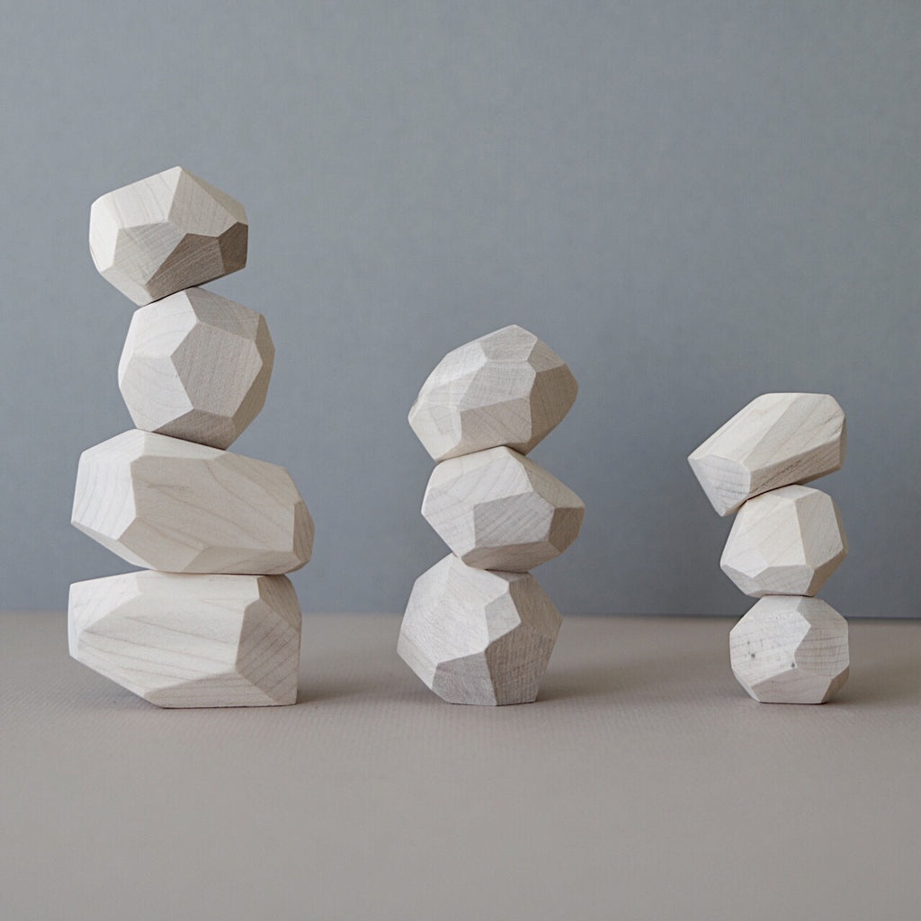 Balancing stones - Natural - PRE ORDER - Happy Little Folks