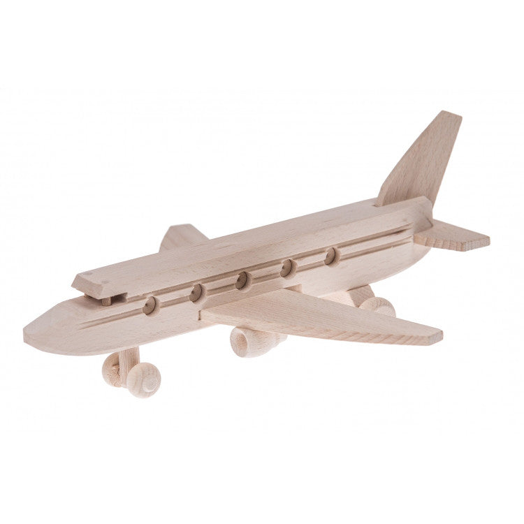 Wooden plane toy