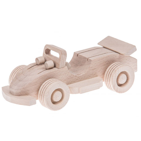 Wooden racing car toy - Happy Little Folks