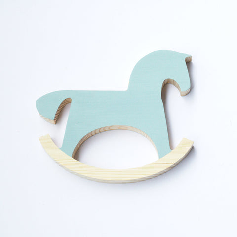 Wooden rocking horse - happylittlefolks - 1