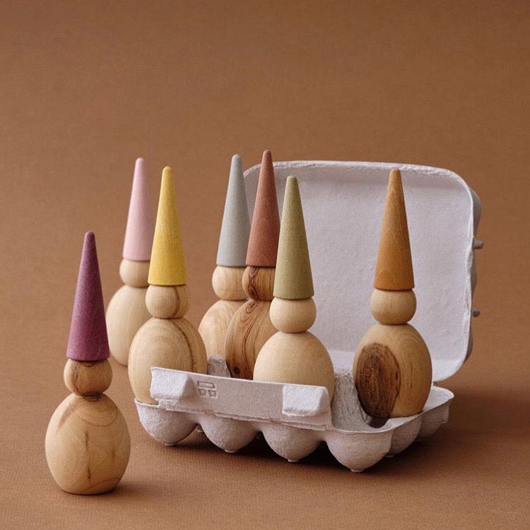 Wooden Gnomes - Raduga Grez - Happy Little Folks