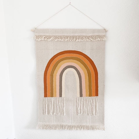 Rainbow Wall Hanging - 2 colour options