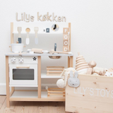 """Little Chef"" Play Set - Custom colour choice or Natural - Happy Little Folks"