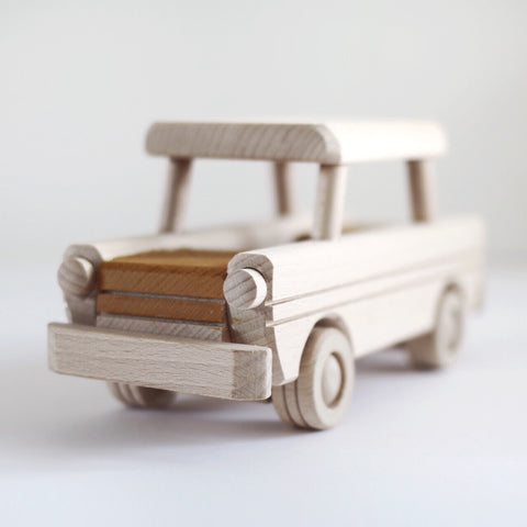 Wooden car toy - Happy Little Folks