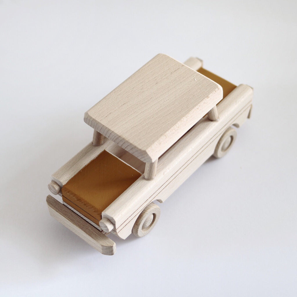 Wooden car toy - custom colour choice - Happy Little Folks