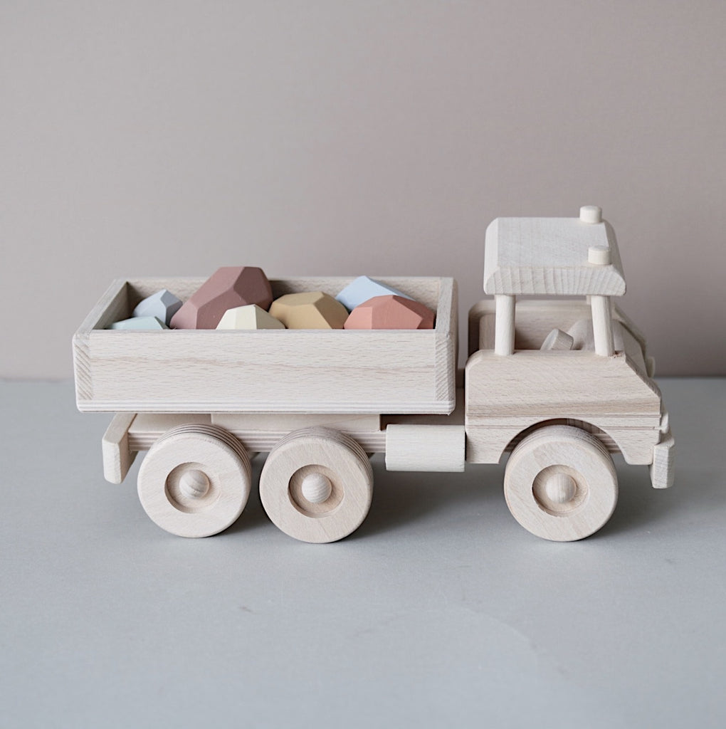 Large wooden truck - Happy Little Folks