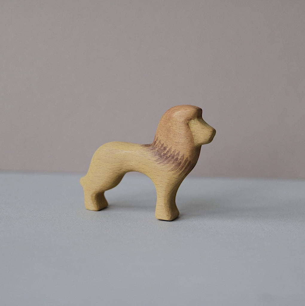 Wooden Lion toy